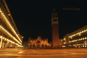 Saint Mark's Square At Night