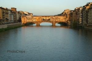 Sunset On The River Arno