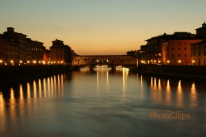 Lights On The Arno River