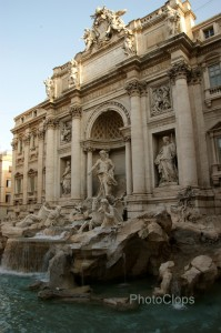 Trevi Fountain Of Rome