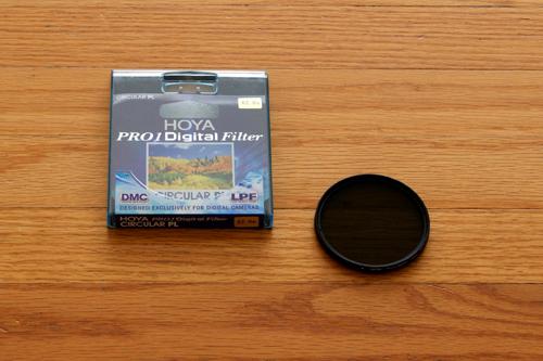 Hoya Slim Polarizer And Box