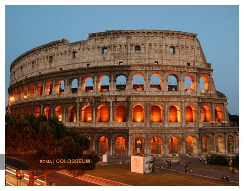 Colosseum 2010 Calendar Print
