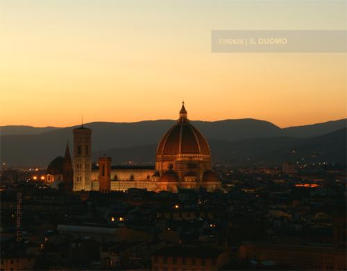 Il Duomo At Sunset 2010 Calendar Print