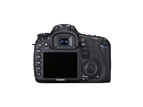 Canon EOS 7D Rear View