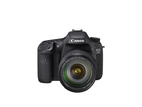 Canon EOS 7D Front View