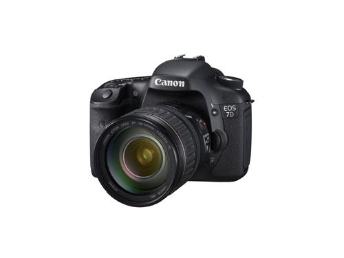 Canon EOS 7D Angle View