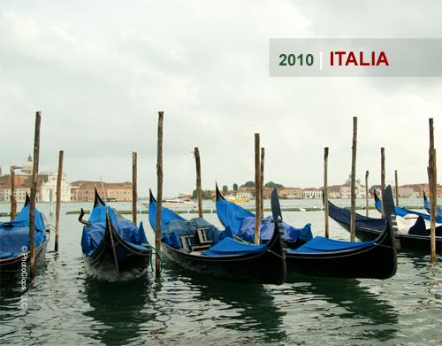 2010 Italy Wall Calendar Cover