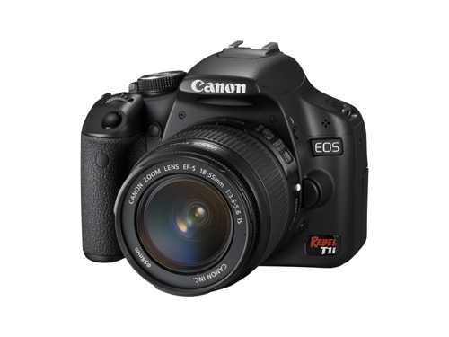 Canon EOS Rebel T1i Angle View