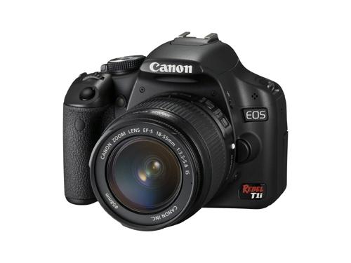 Canon EOS Rebel T1i Angle View