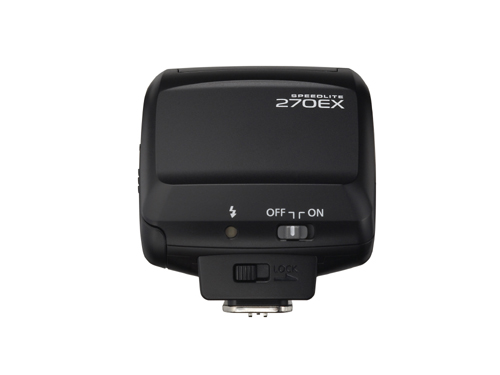 Canon Speedlite 270EX Flash Rear View