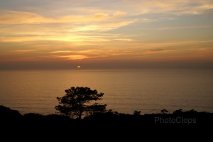 Sunset At Torrey Pines State Park