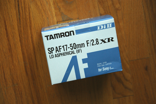 Tamron A16S Box Front