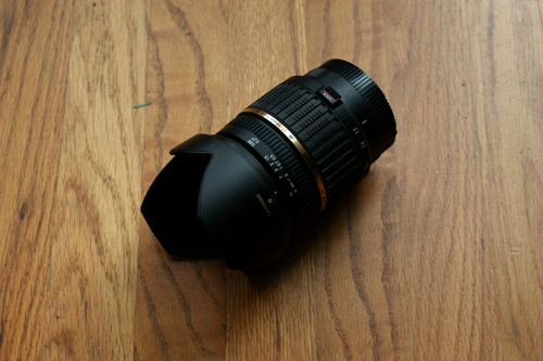 Tamron A16S Lens Side View
