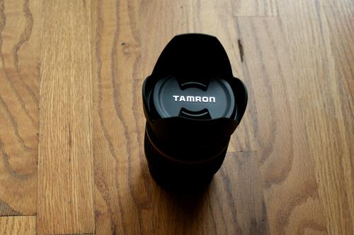 Tamron A16S Lens Top View