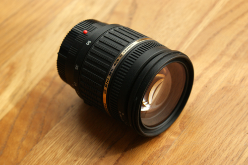 Tamron A16S Angled View Front Glass