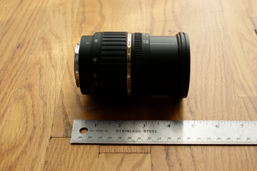 Tamron A16S Fully Extended