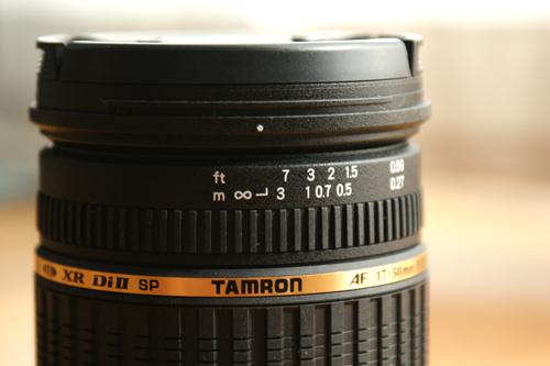 Tarmon AF17-50mm f/2.8 Di-II LD Aspherical Lens Focus Ring