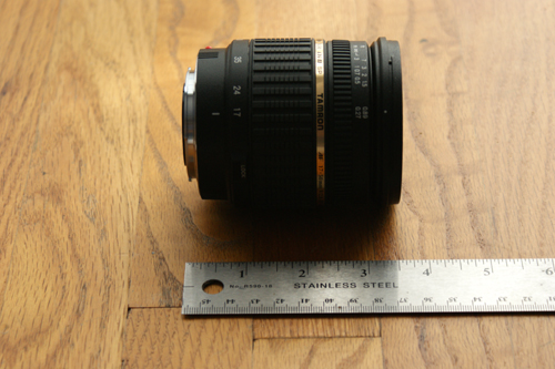Tamron A16S Fully Retracted