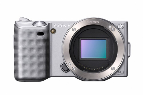 Sony Alpha NEX-5 Silver Body Only